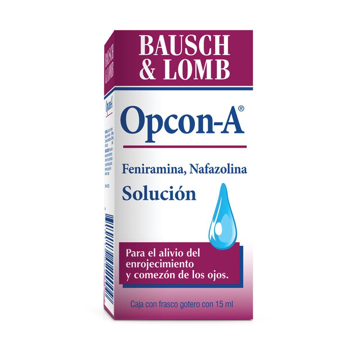 Opcon-a souciónl 15 ml  - Sanborns