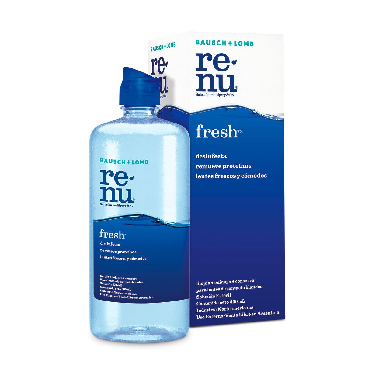 Solución renu plus   500 ml  - Sanborns