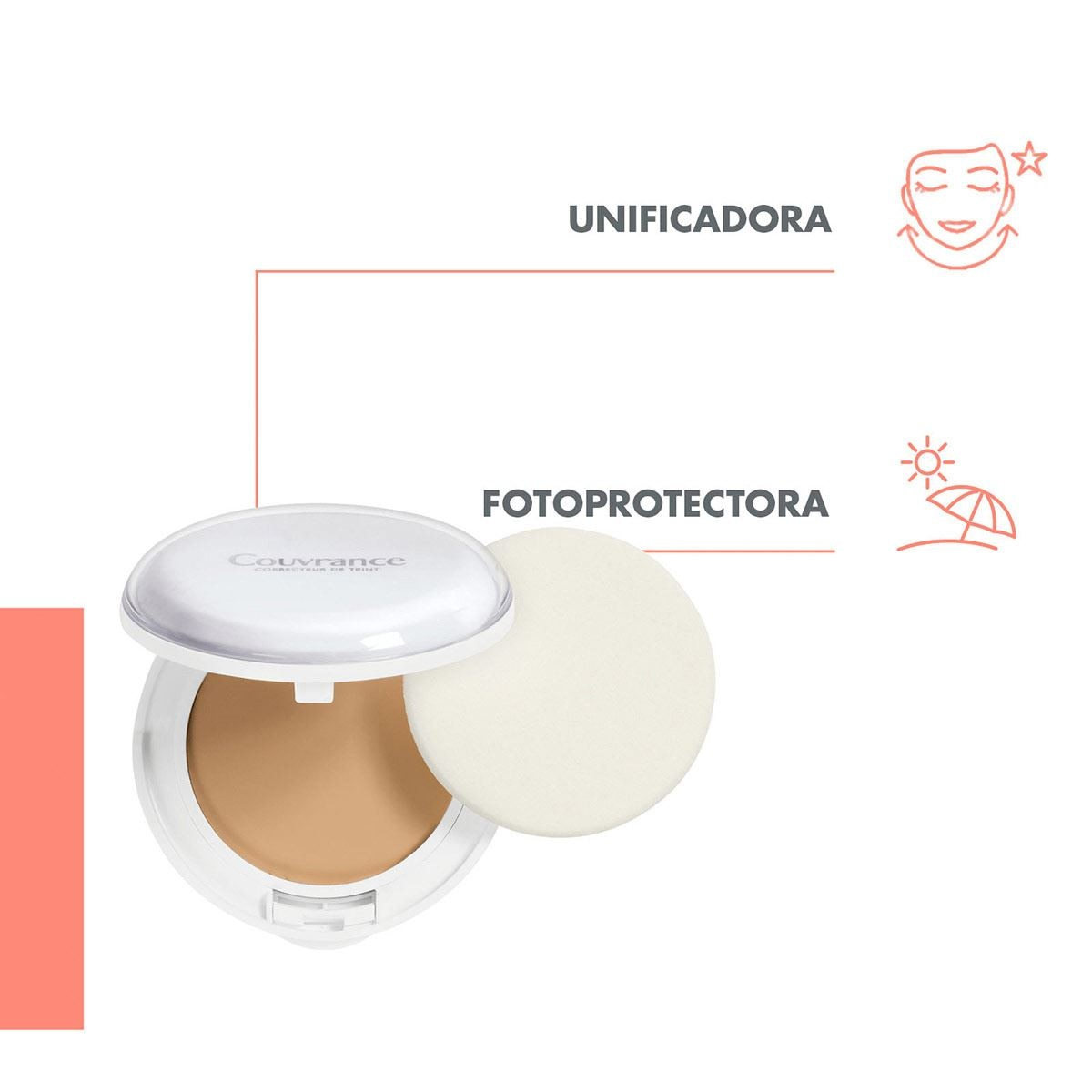 Maquillaje Corrector Facial Fps30 Beige Avène Couvrance