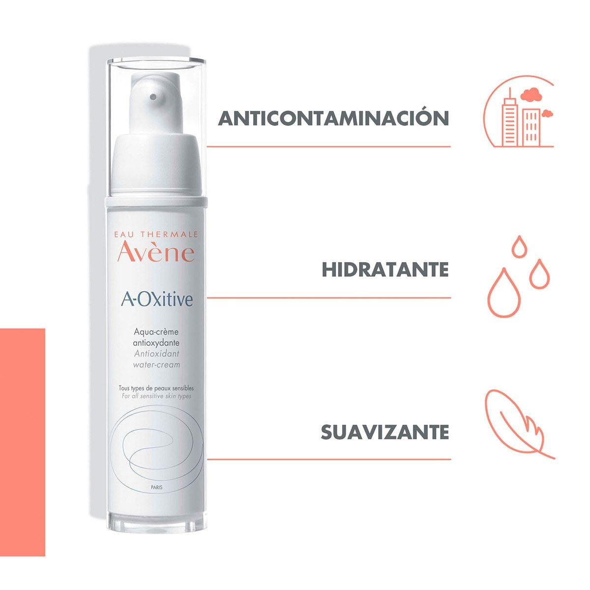 Anti-Oxitive en Crema (30 ml) de Avene
