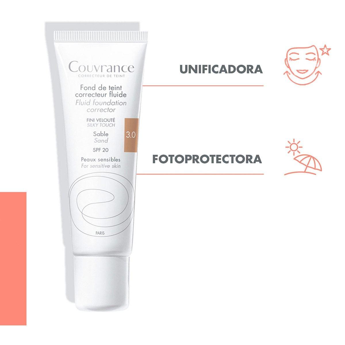 Maquillaje facial corrector líquido arena  - Sanborns