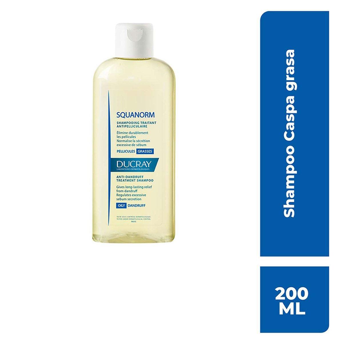 Shampoo squanorm caspa/grasa  - Sanborns