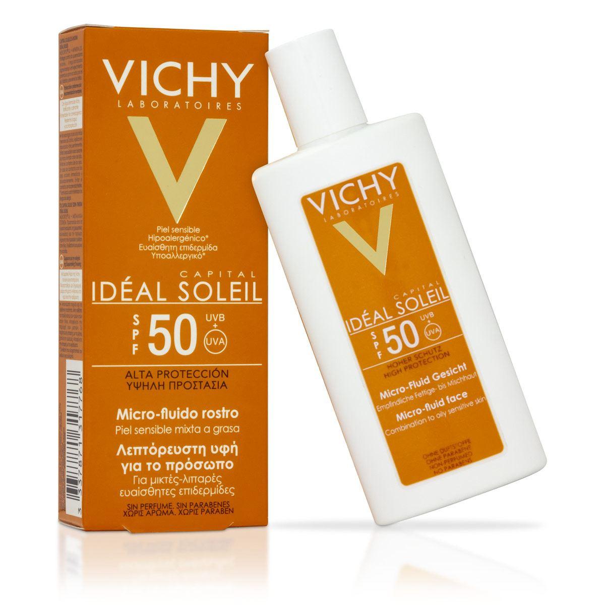 Ideal Soleil Micro - Fluido Fps 50 Vichy