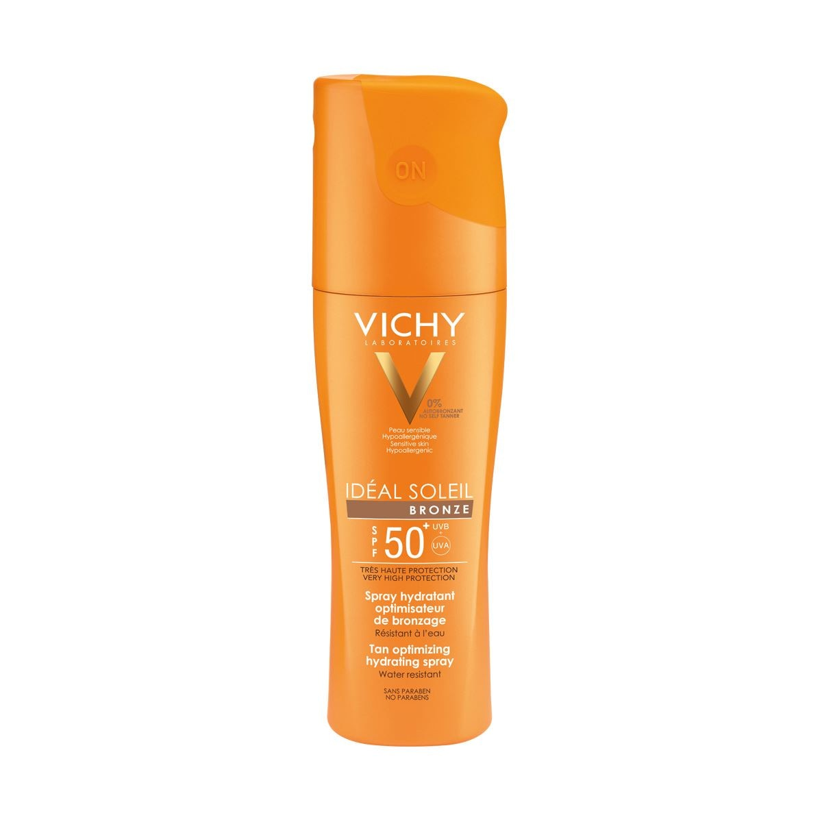 Vichy ideal soleil  spray corps ip50+ 200ml  - Sanborns