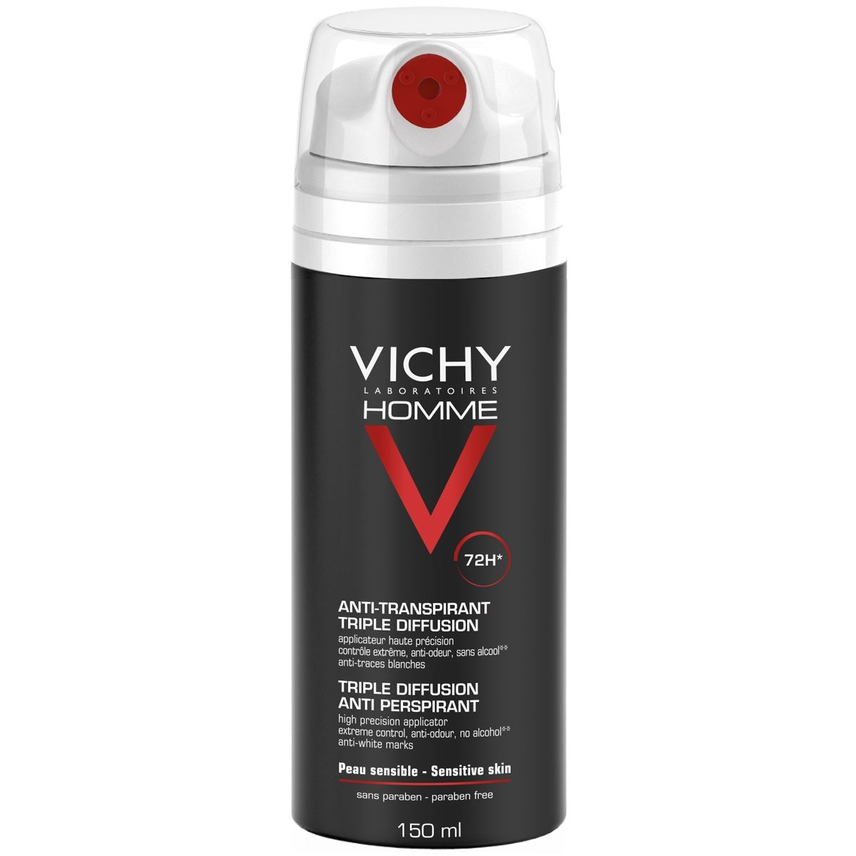 Vichy Homme Deo Spray 72h 150ml 15