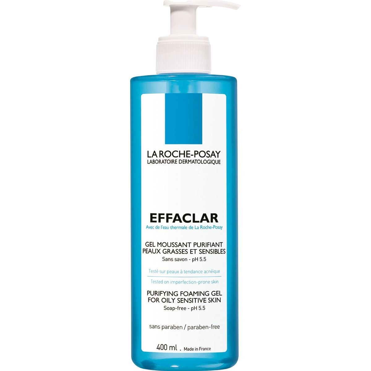 La roche-posay effaclar gel  mousse t400ml  - Sanborns