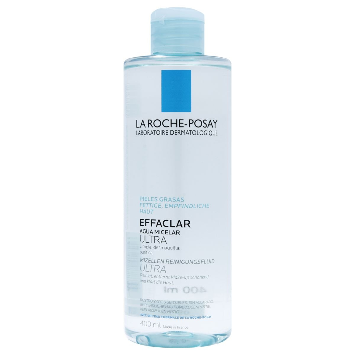 Effaclar agua micelar ultra 400ml  - Sanborns