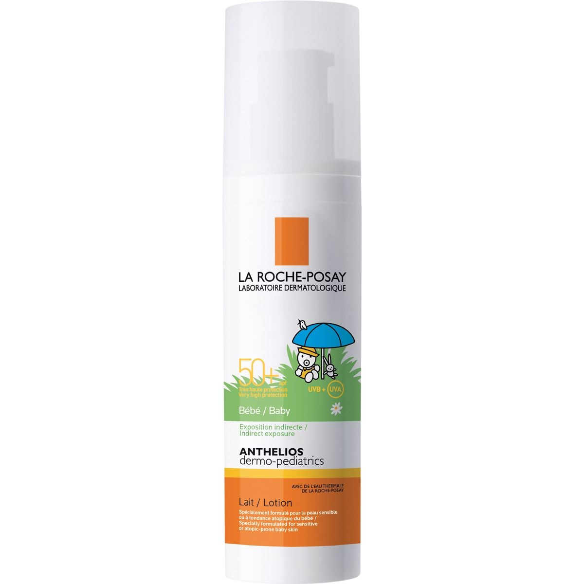 La roche-posay anthelios lait bebe fps50  50 ml  - Sanborns