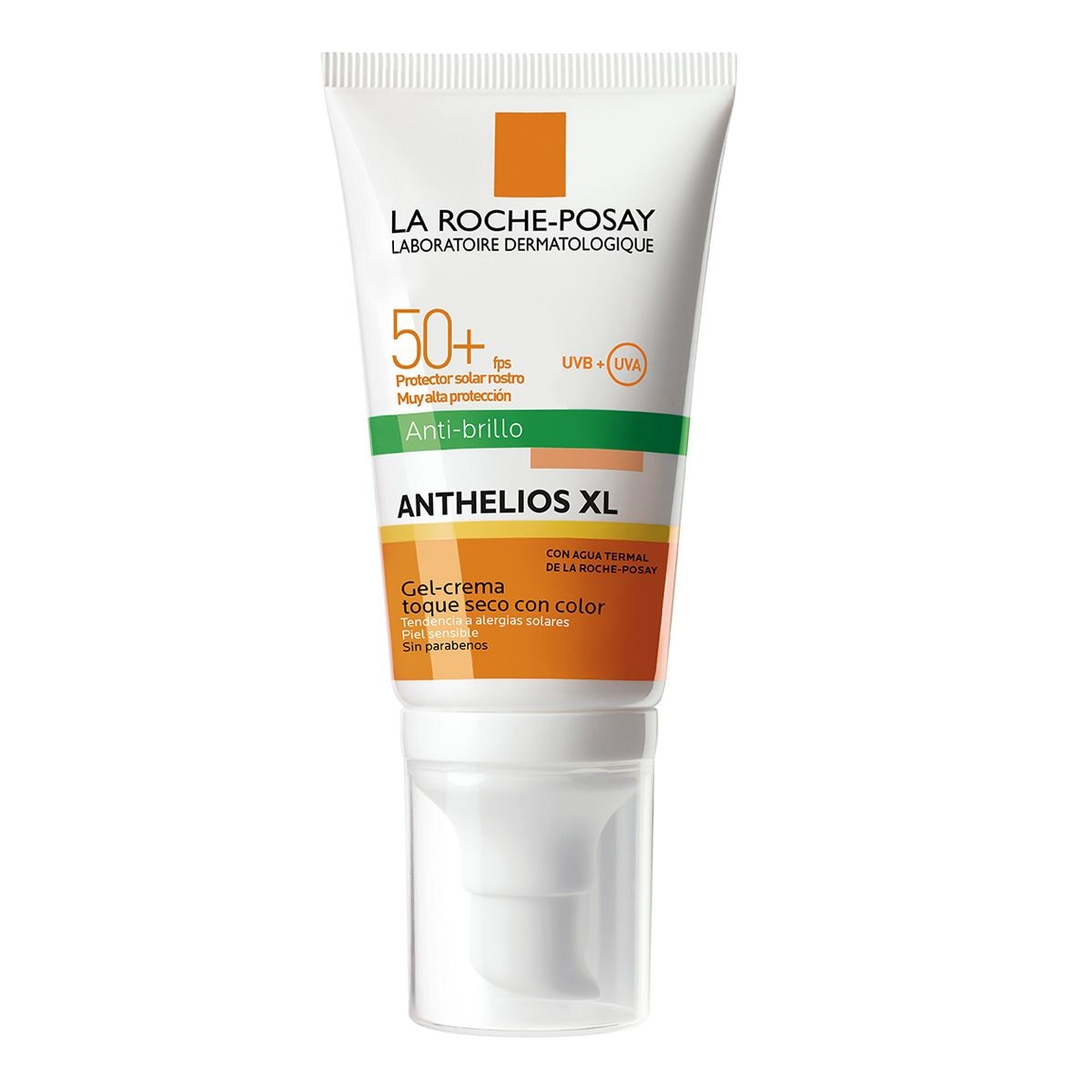Anthelios xl 50+fps toque seco con color 50ml  - Sanborns