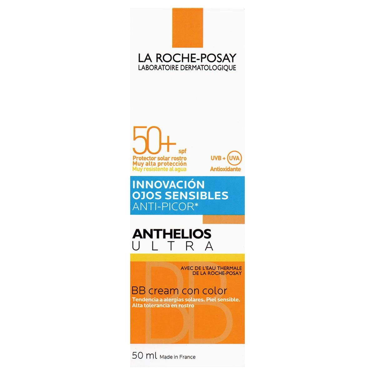 Anthelios ultra con fps 50+ de 50 ml con color  - Sanborns