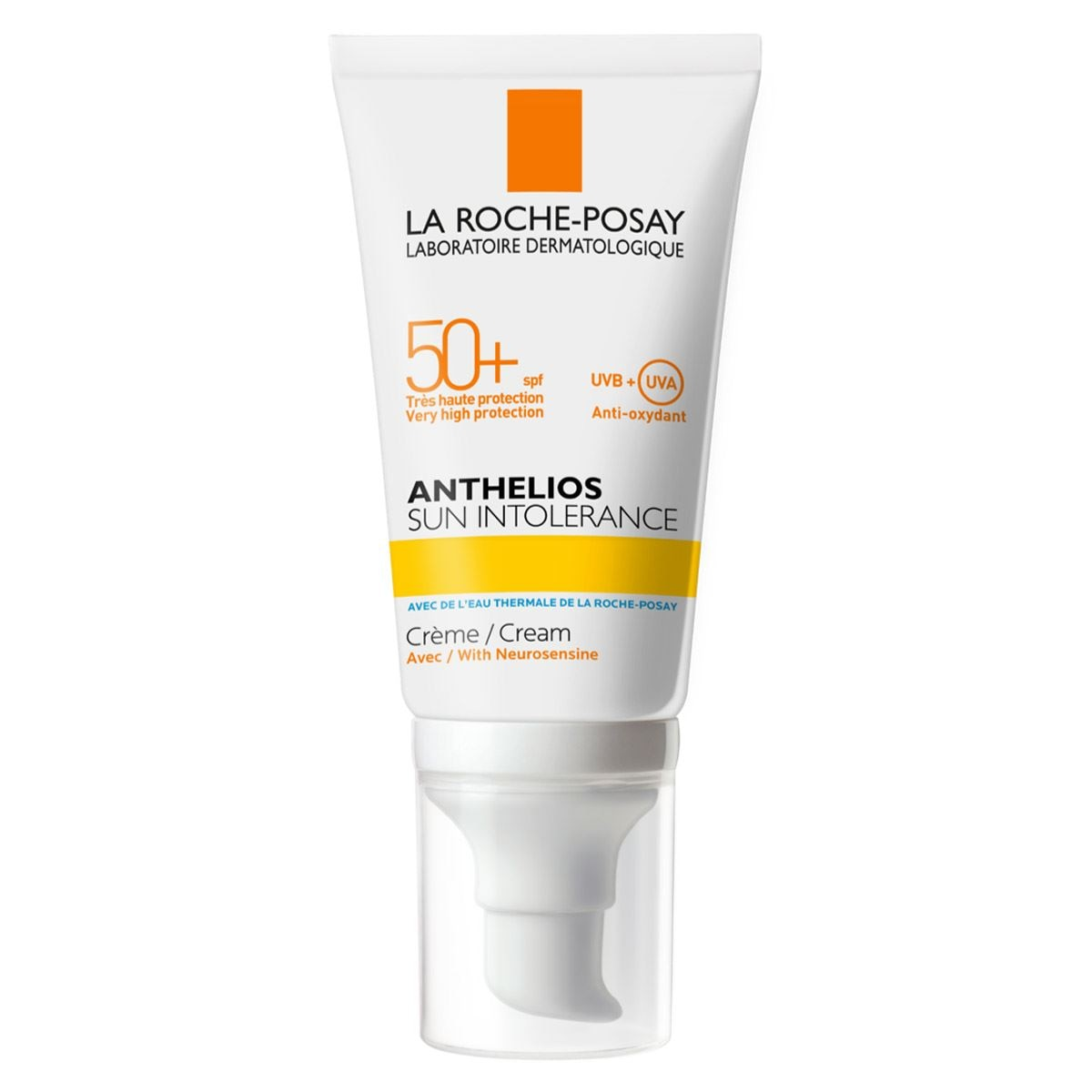 Anthelios Sun Intolerance Con Fps 50+ De 50 ml