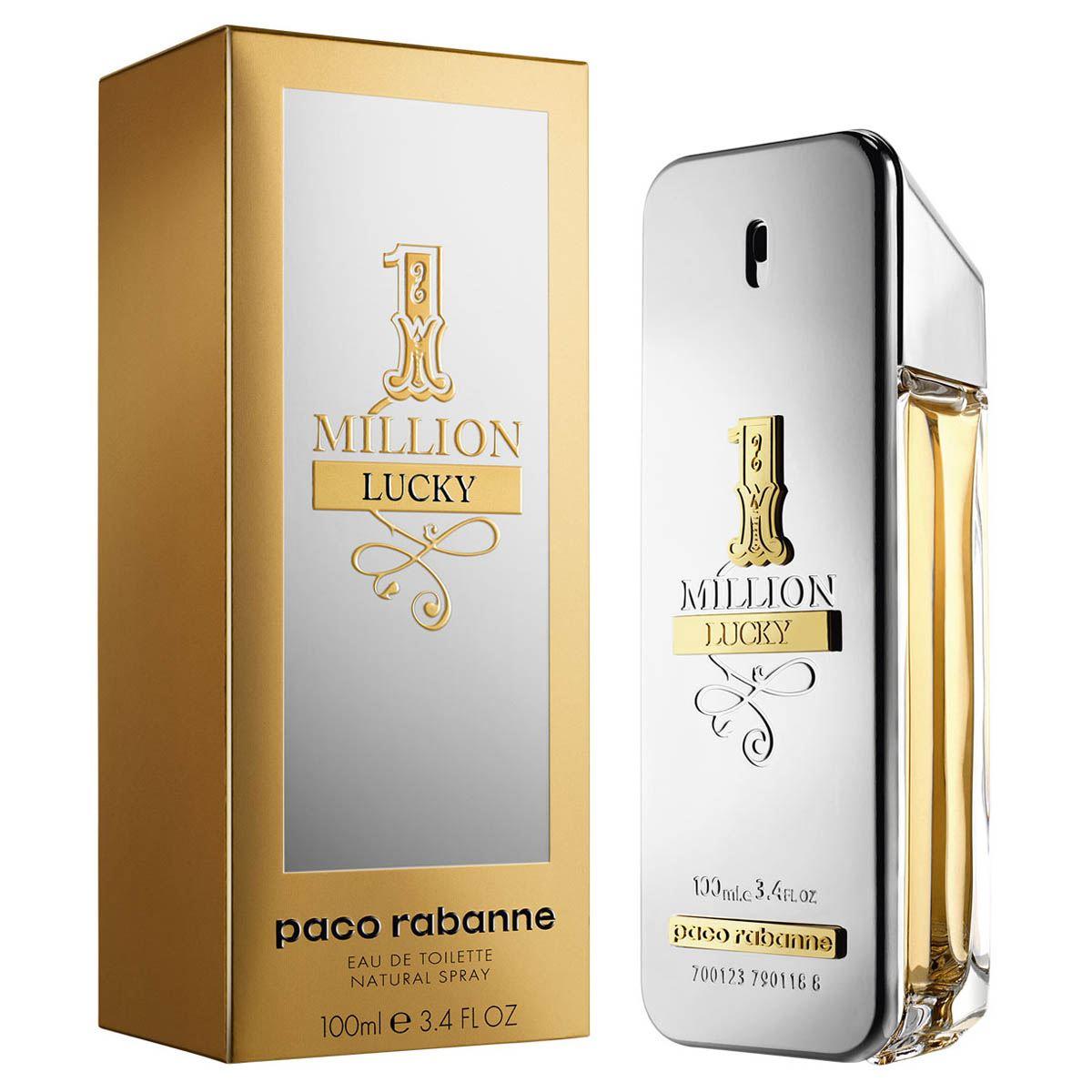 Fragancia para Caballero, Paco Rabanne, One Million Lucky Caballero 100 ML
