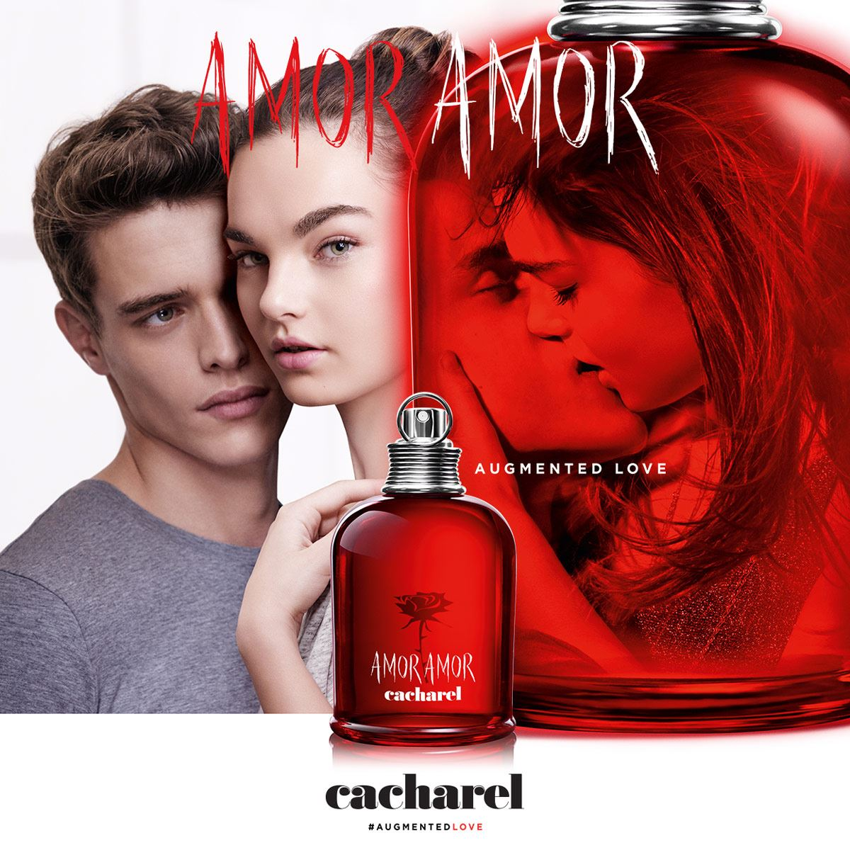 Fragancia Para Dama Amor Amor de Cacharel 100 ml