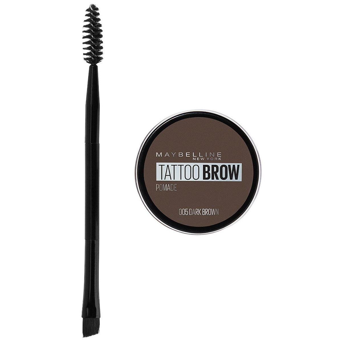 Pomada para Cejas Maybelline Brow Tattoo Dark Brown