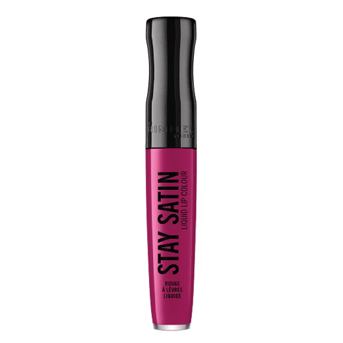 Rimmel London Stay Satin Labial líquido,  5.5ml, Shade: For Sure
