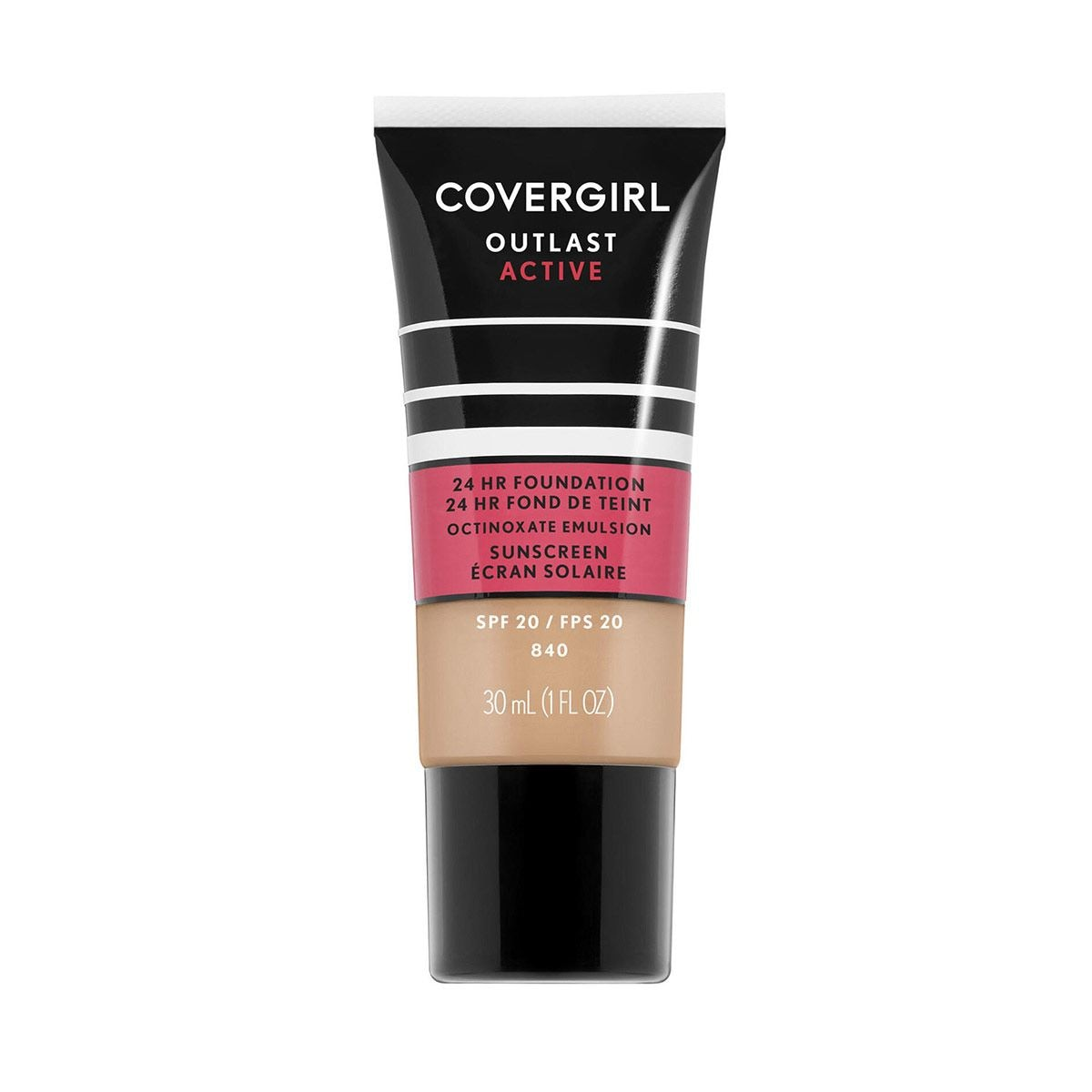 Base de Maquillaje Líquida Covergirl Outlast Active 840 Natural Beige