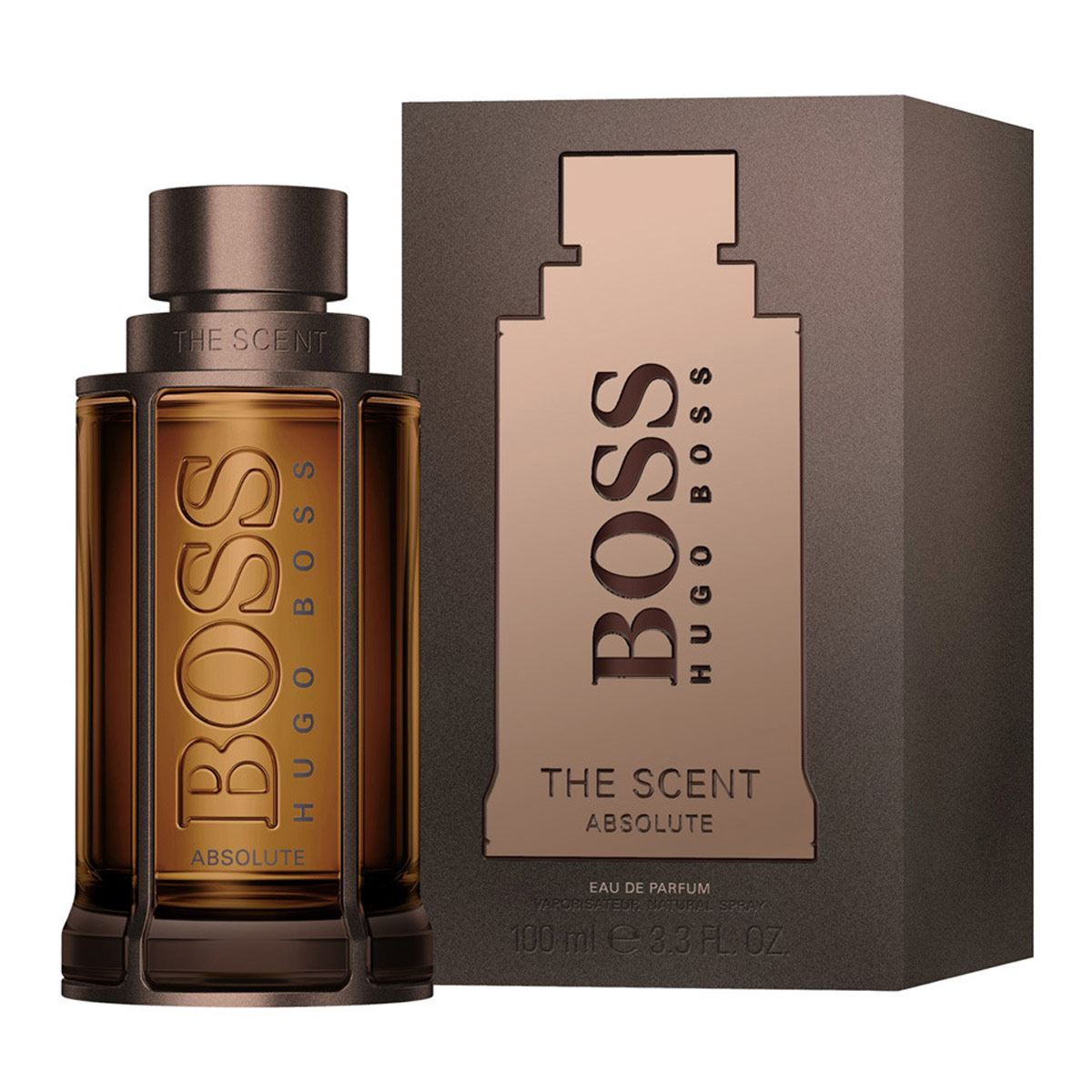 Fragancia Para Caballero Boss The Scent Absolute For Him EDP 100ml