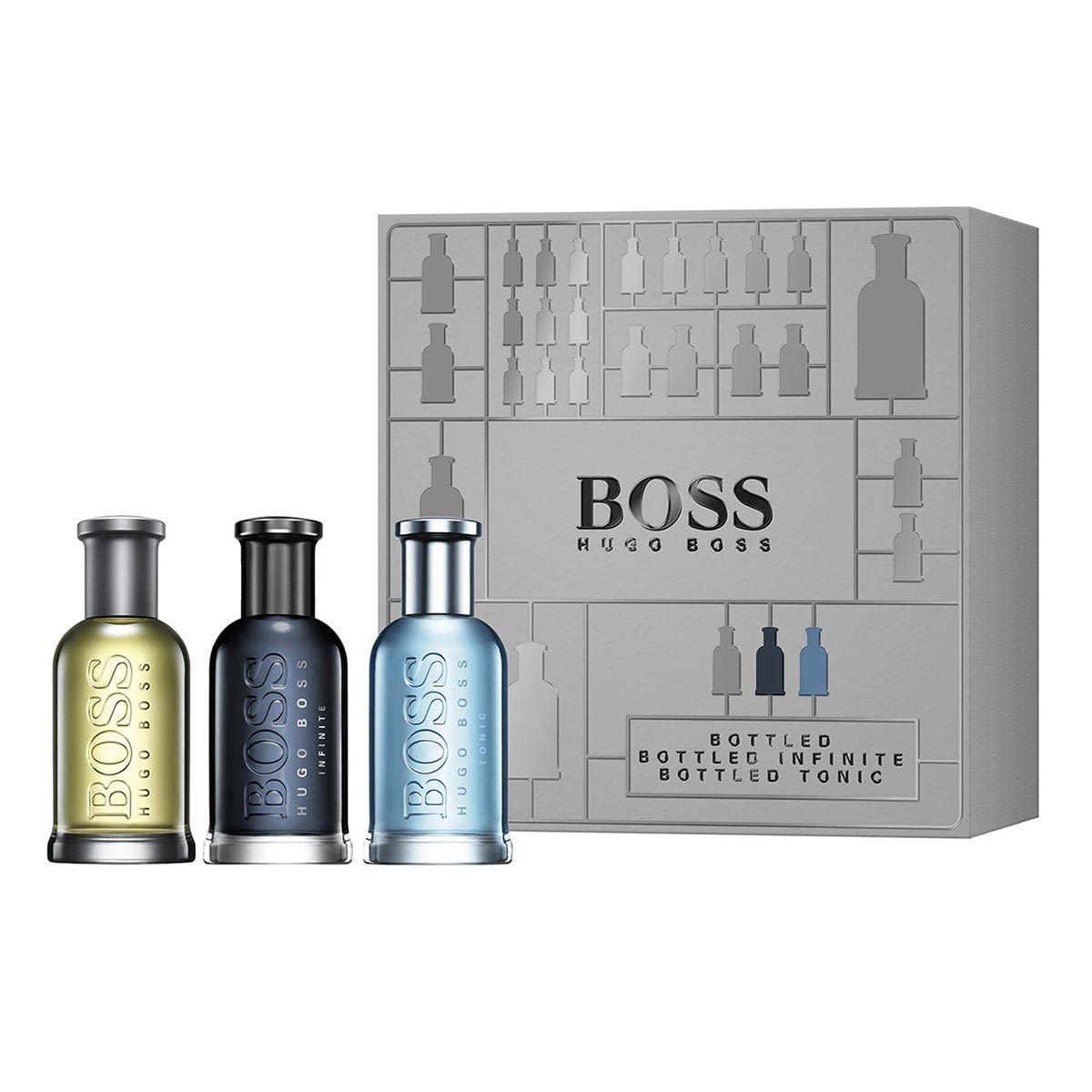 Set para Caballero Boss Bottled Classic, Tonic & Infinite Hugo Boss
