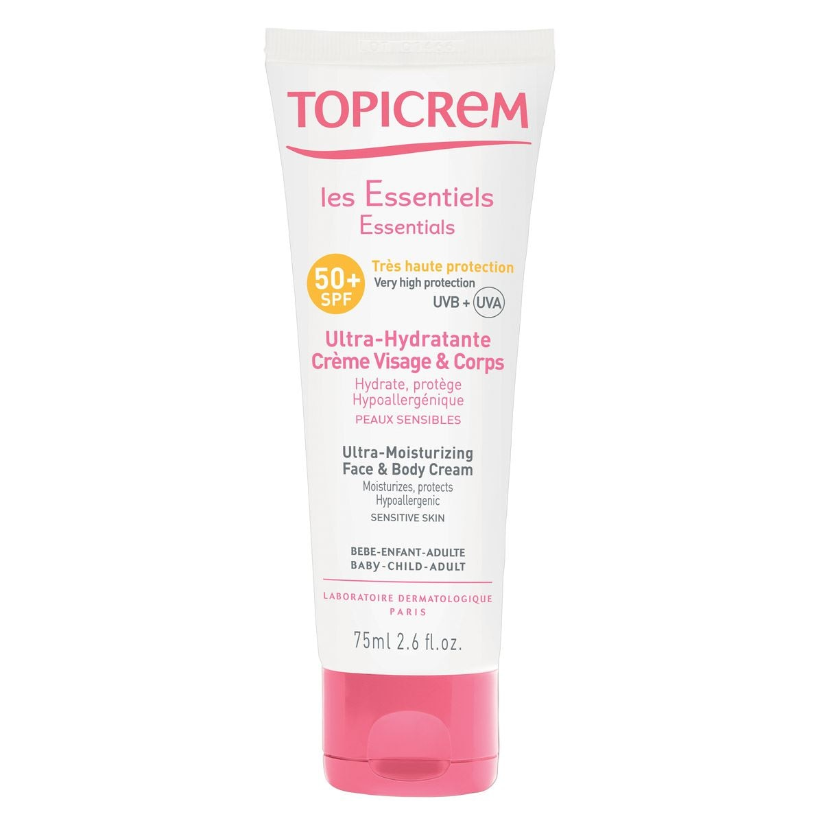 Crema ultra- hidratante spf50 75 ml  - Sanborns