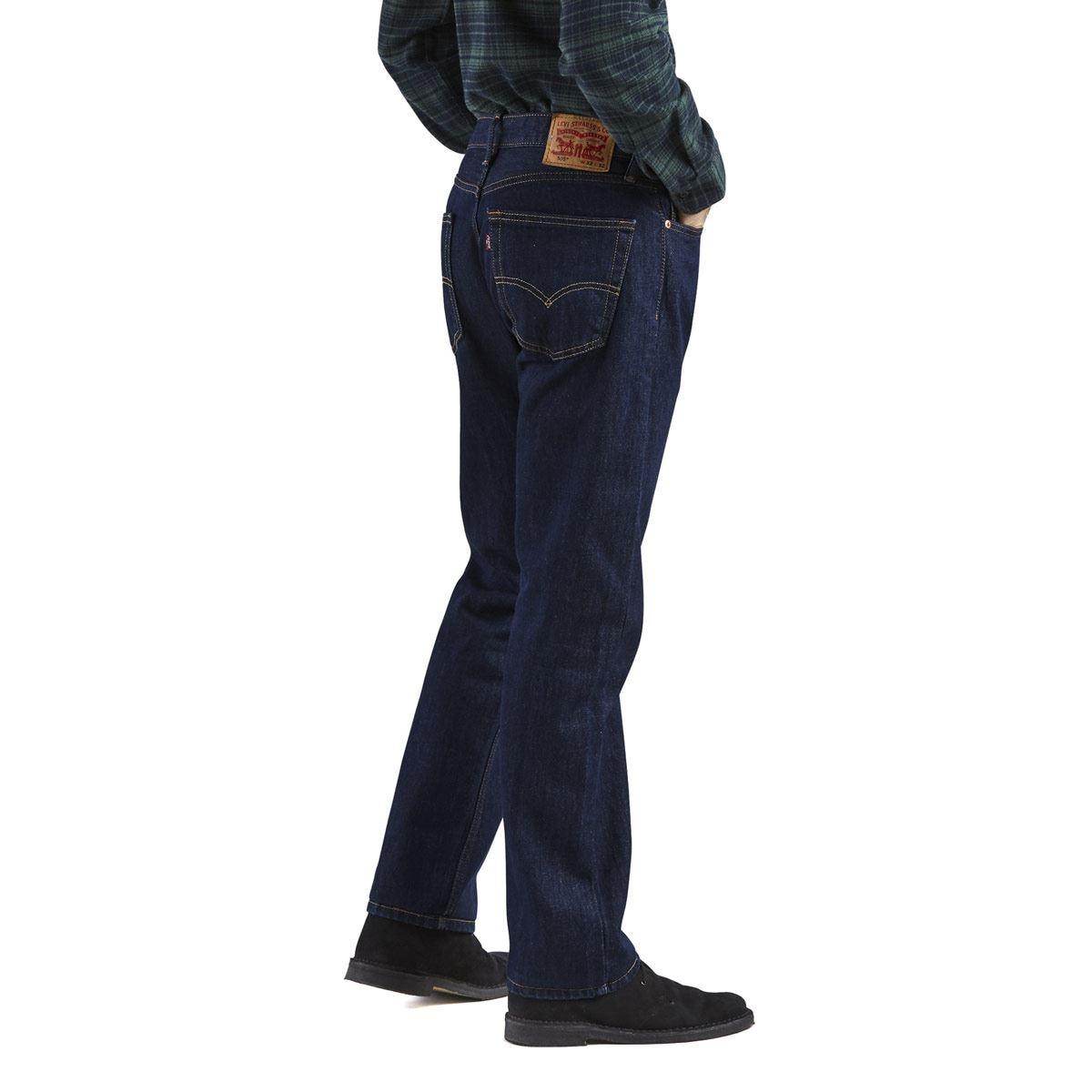 Jeans Levi's 505 Regular Fit Jeans 38x32