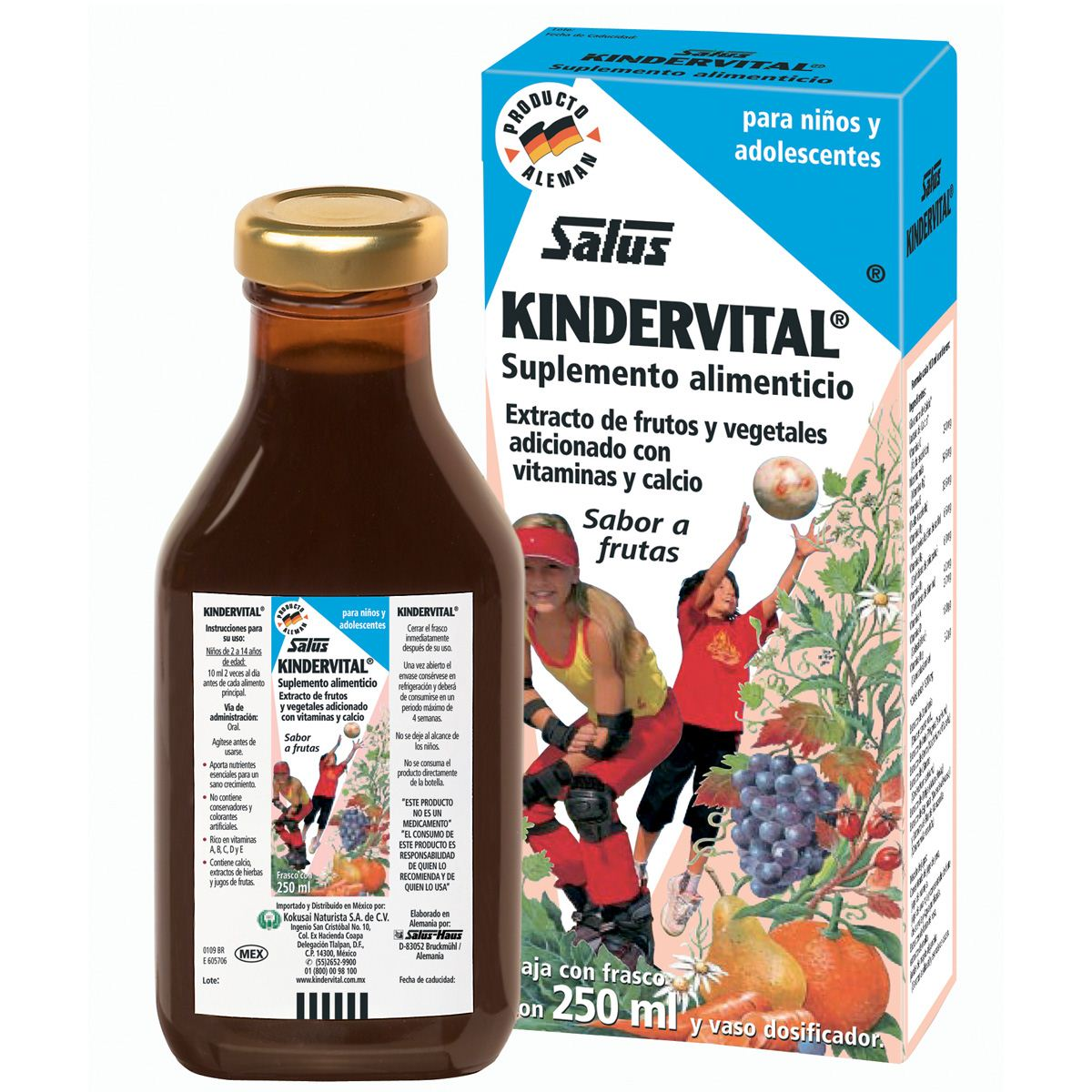 Kindervital 250 ml  - Sanborns