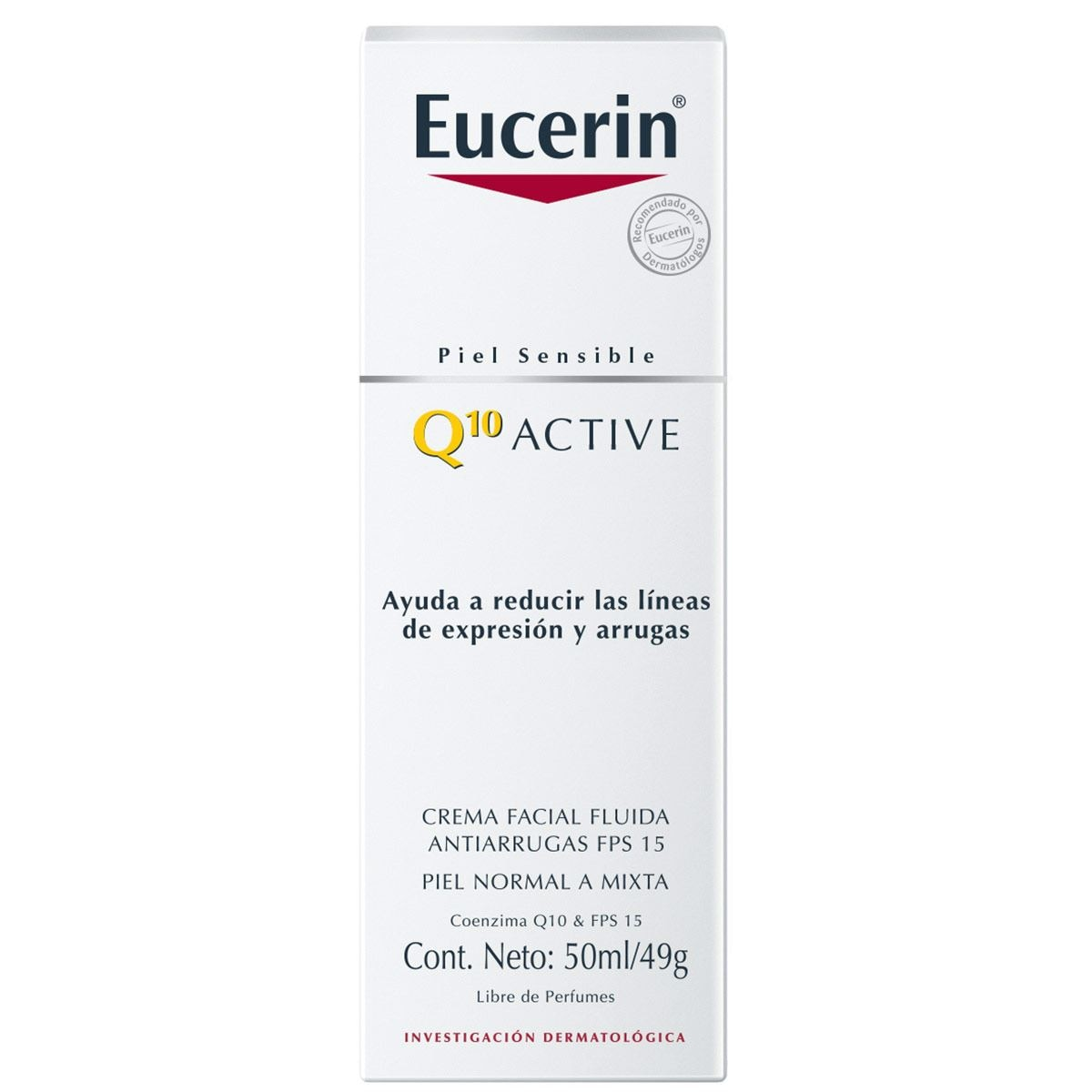 Eucerin q10 loción facial fps 15 50 ml  - Sanborns