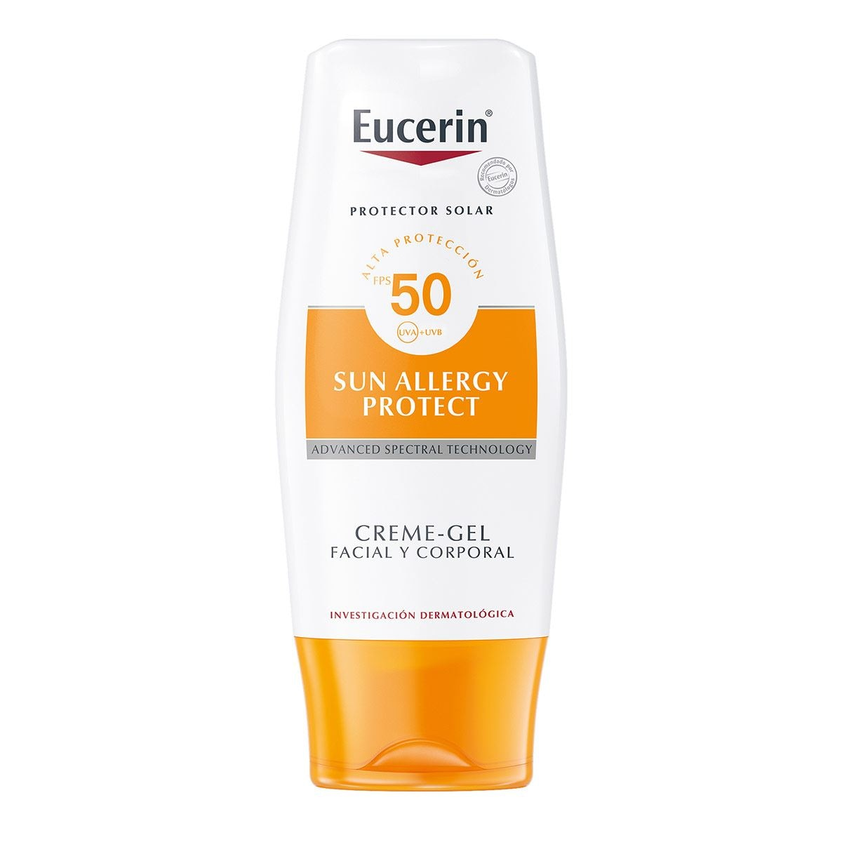 Eucerin sun, allergy crema-gel fps 50, 150 ml  - Sanborns