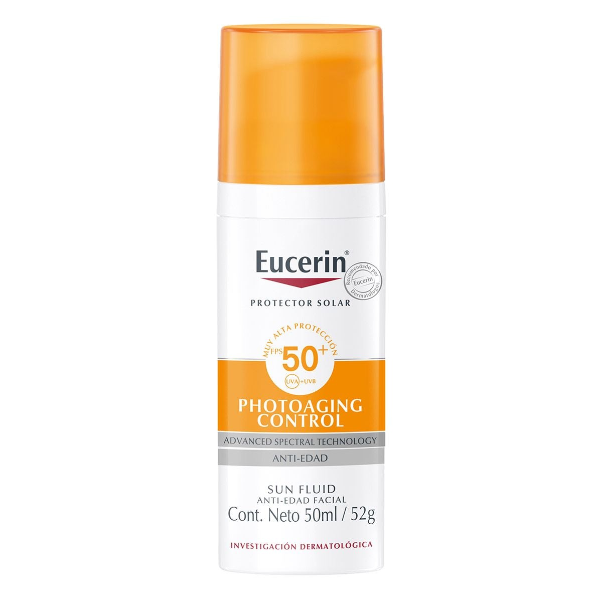 Eucerin  sun anti age claro spf50 50ml  - Sanborns