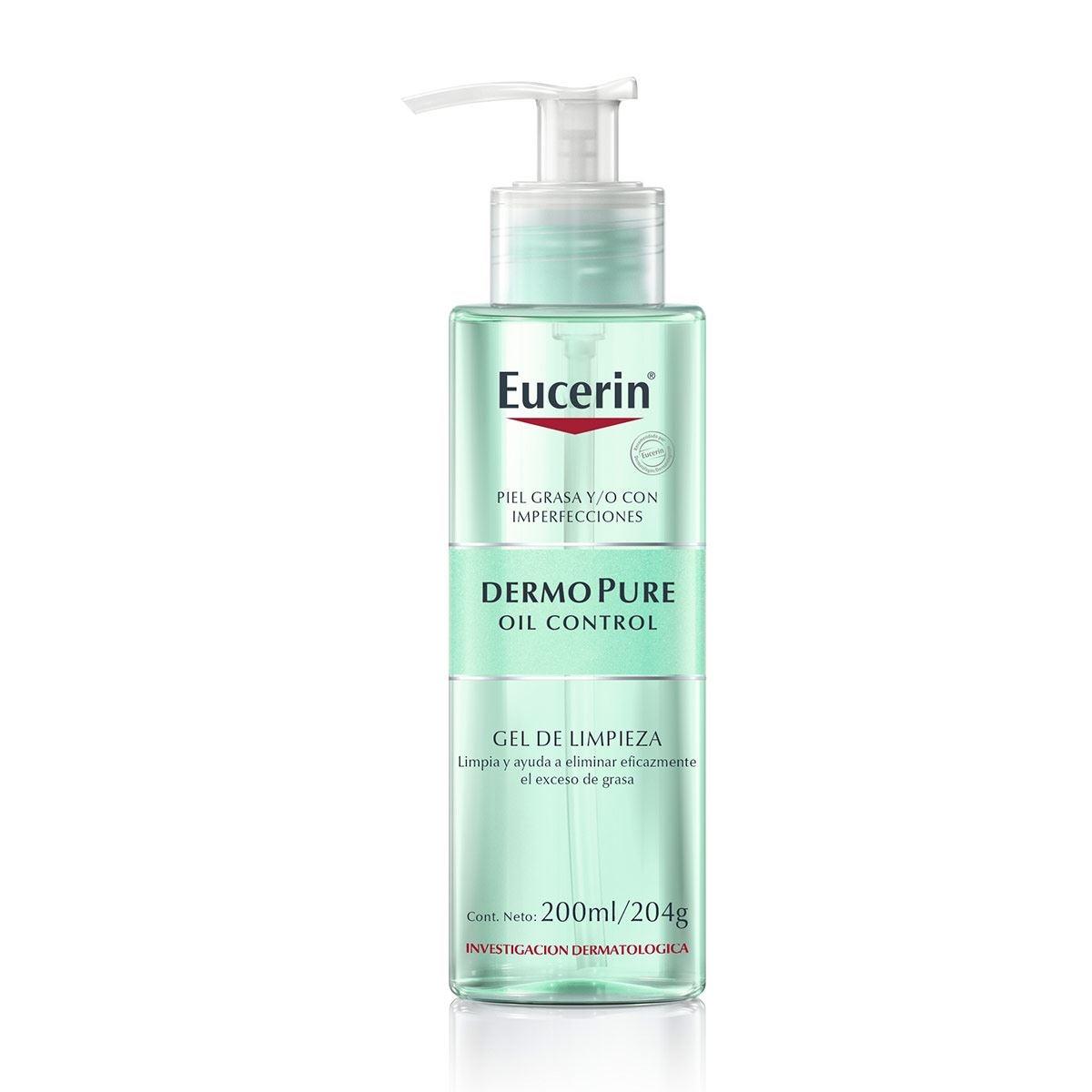 Gel Limpiador Facial 200 ml Eucerin