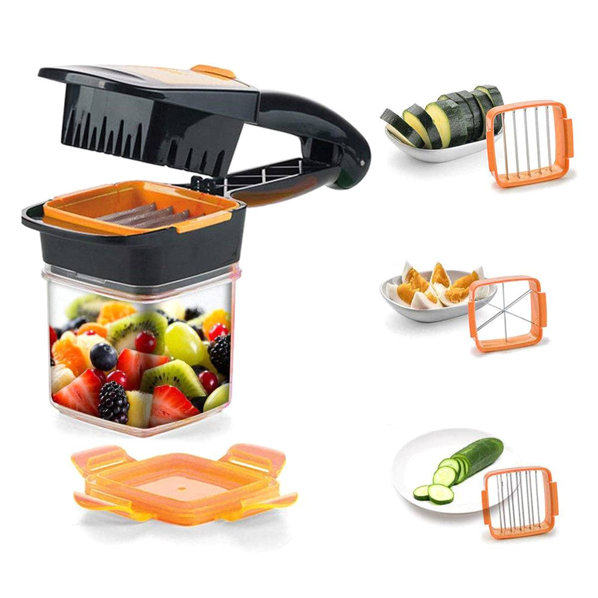 Cortador Color Naranja Nicer Dicer Quick