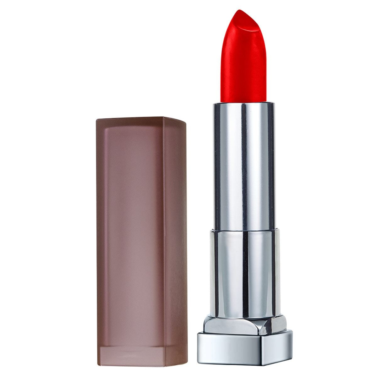 Labial Matte Color Sensational Maybelline 690 Siren Scarlet