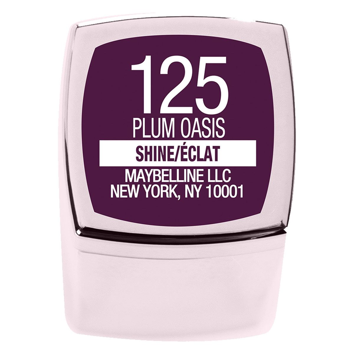 Maybelline Labial Color Sensational shine compulsion plum oasis