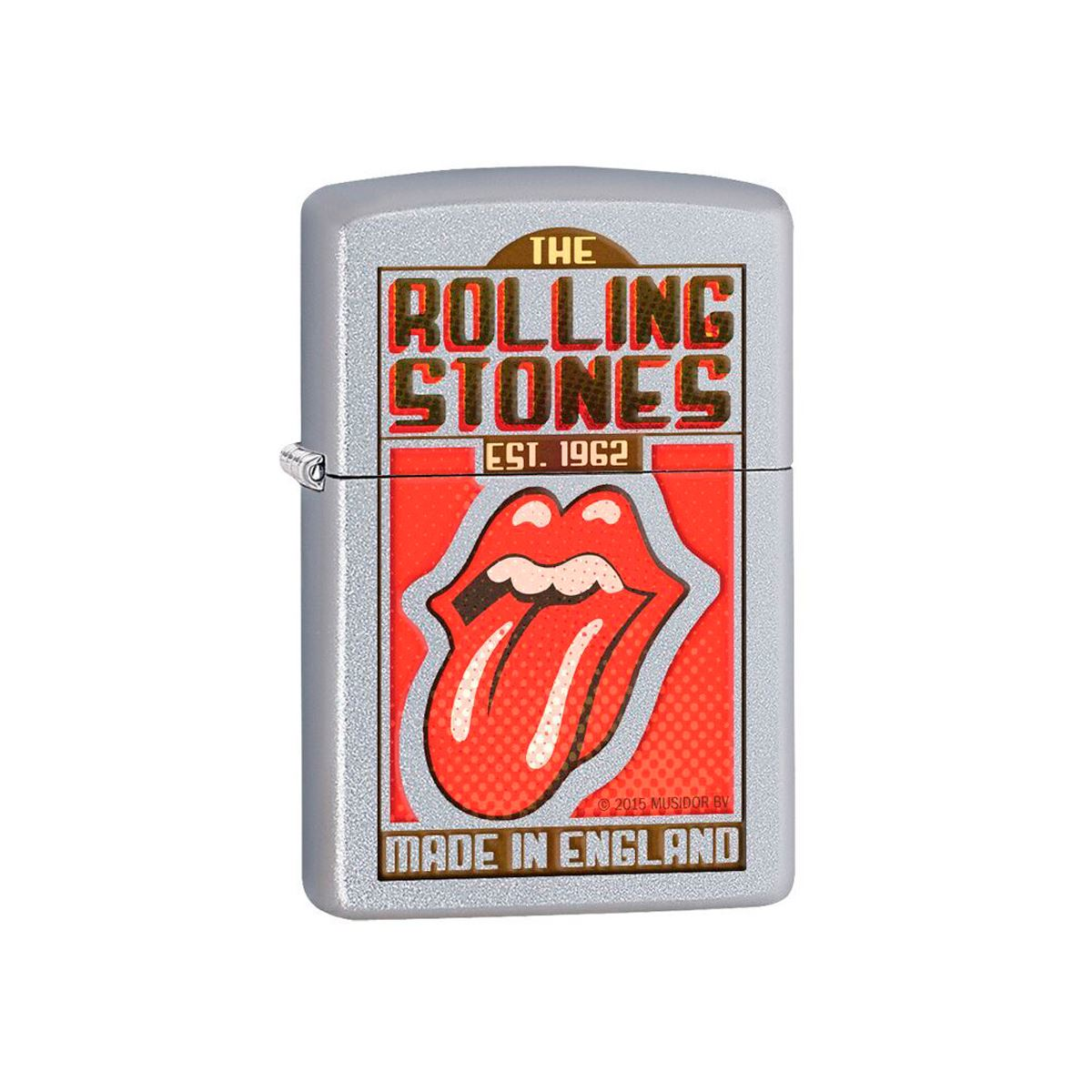 Encendedor Zippo Rolling Stones Made In England