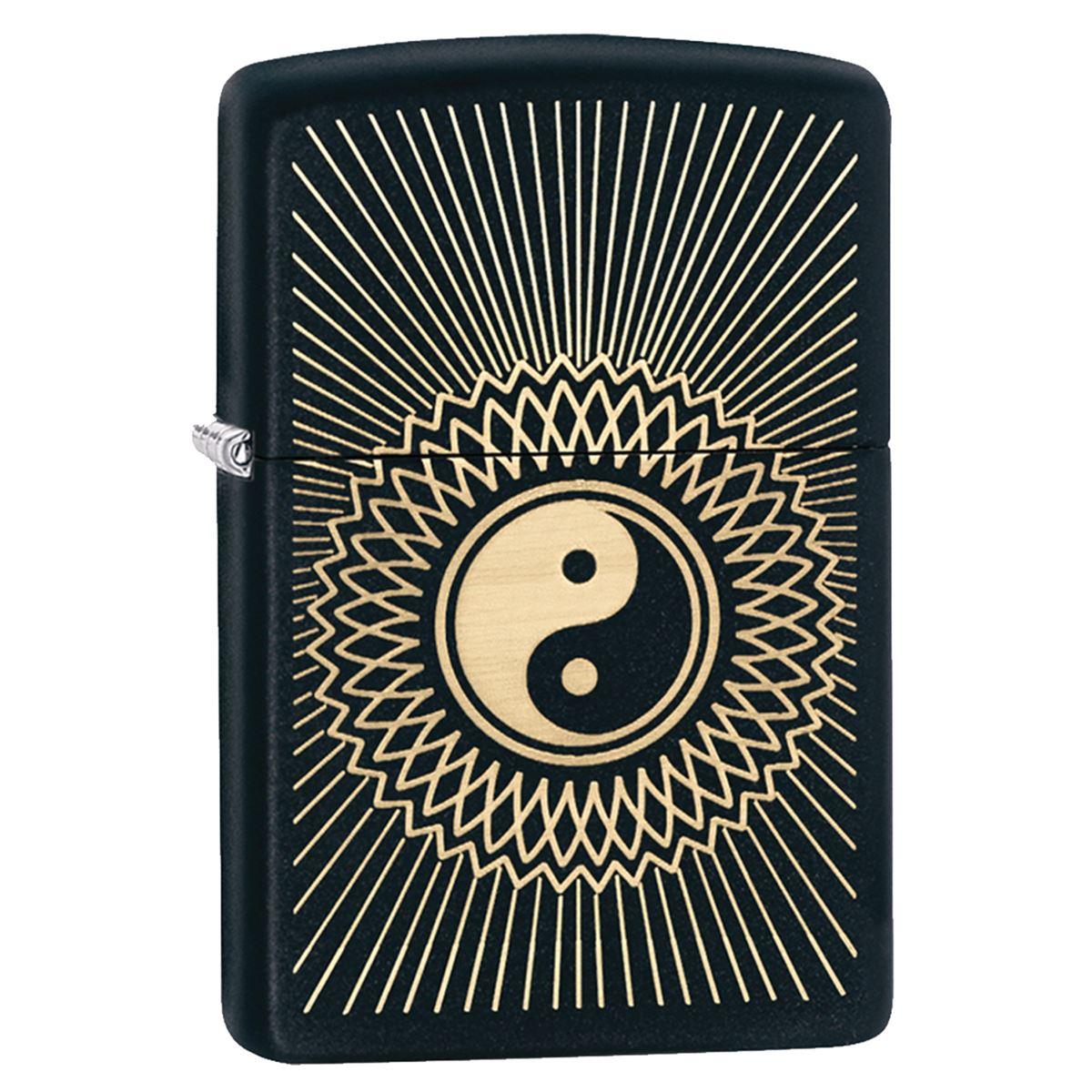 Encendedor zippo negro yin yang  - Sanborns