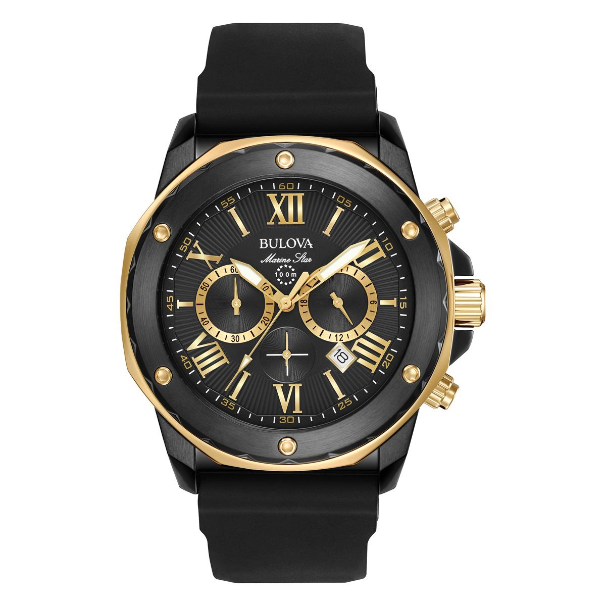 Reloj Bulova 96b138 Stainless Steel Cronografo Cnuevo S 6cc361605b7e