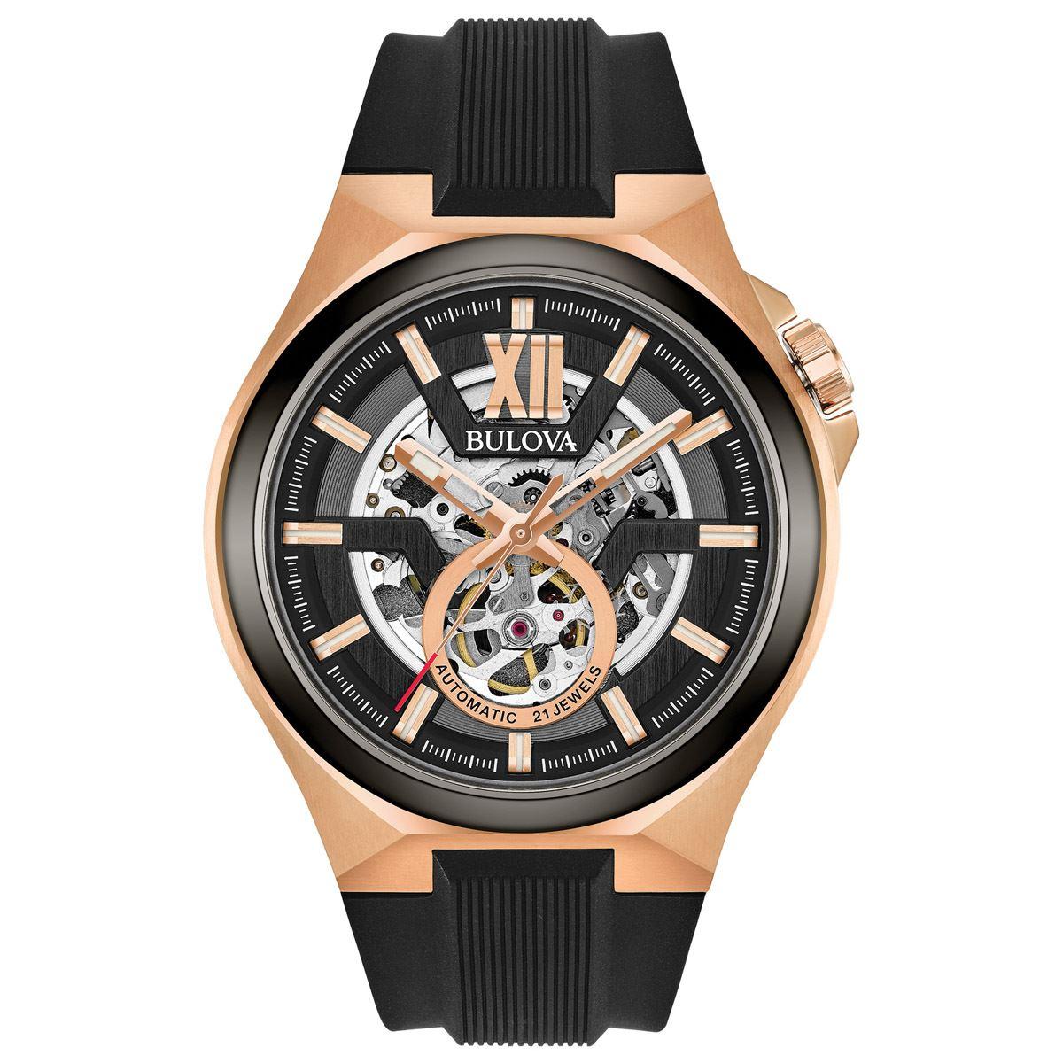 Reloj Bulova Mecánico de Cuerda Automática para Caballero 98A177