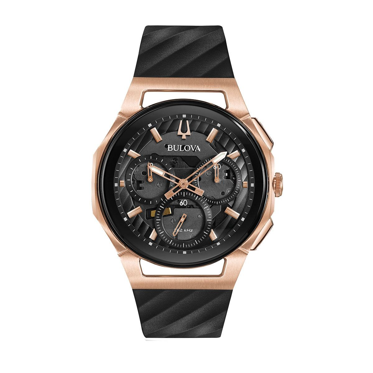 Reloj de pulso bulova caballero 98a185  - Sanborns