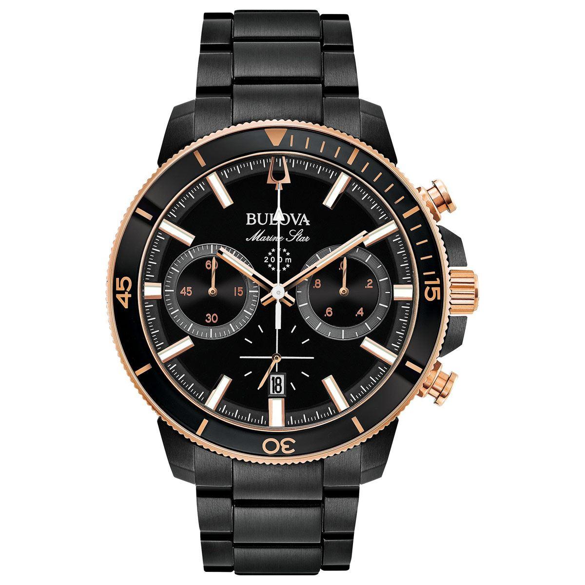 Reloj bulova caballero 98b302  - Sanborns