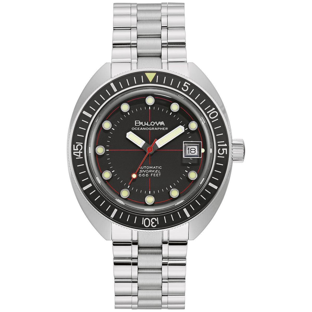 Reloj de pulso Bulova 96B344 Colección Oceanographer Para Caballero