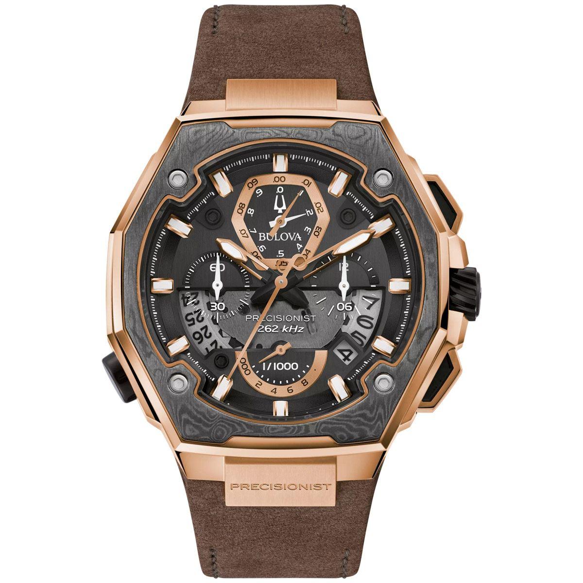 Reloj de pulso Bulova para Caballero 98B356 Colección Precisionist