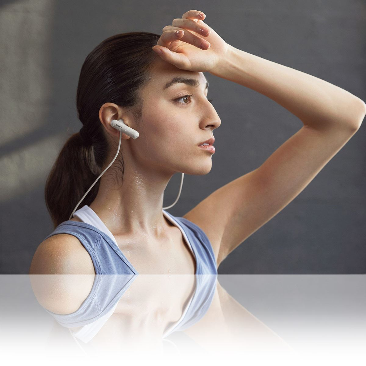 Audífonos Bluetooth Wi-Sp500 Blanco Sony