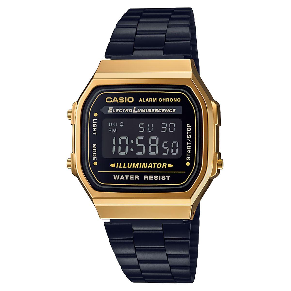 399cb5edddcd Reloj Casio A168WEGB-1BVT Vintage