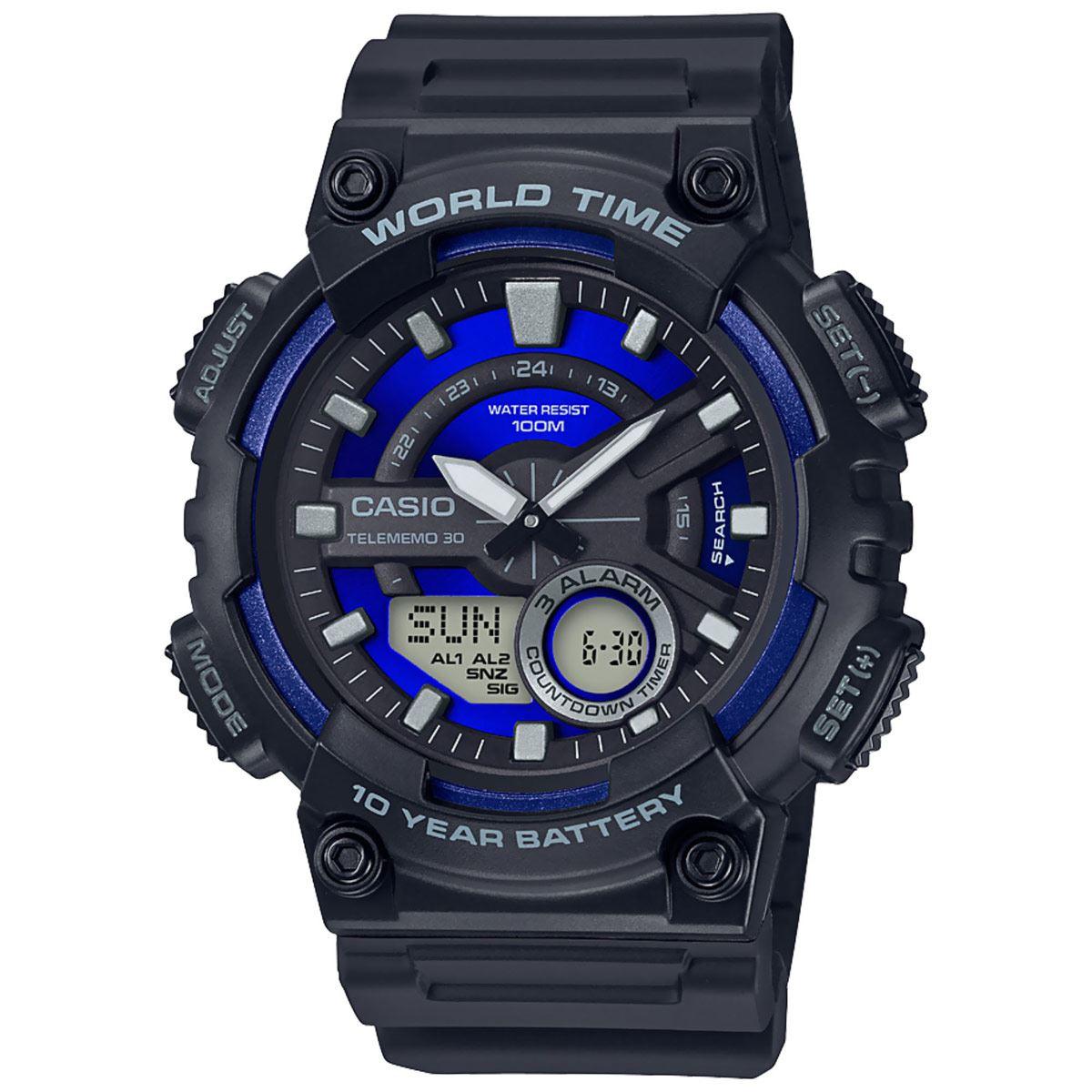 Reloj Casio AEQ-110W-2A2V Caballero