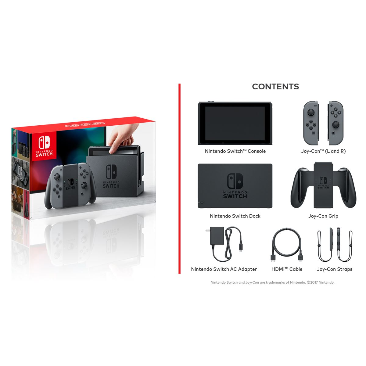 Consola Nintendo Switch Gris