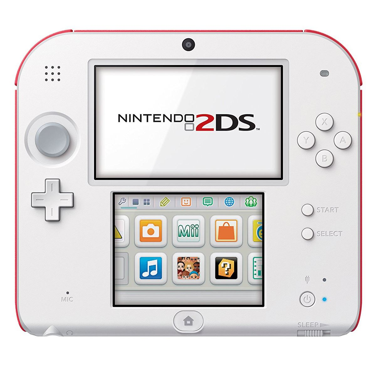 Consola 2DS Scarlet Red NSMB 2