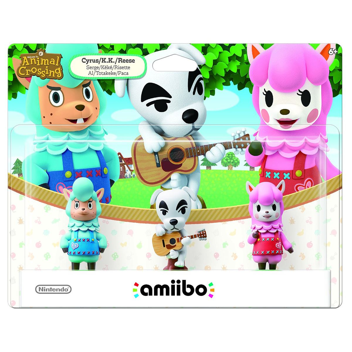 Figura Amiibo Animal Crossing Serie