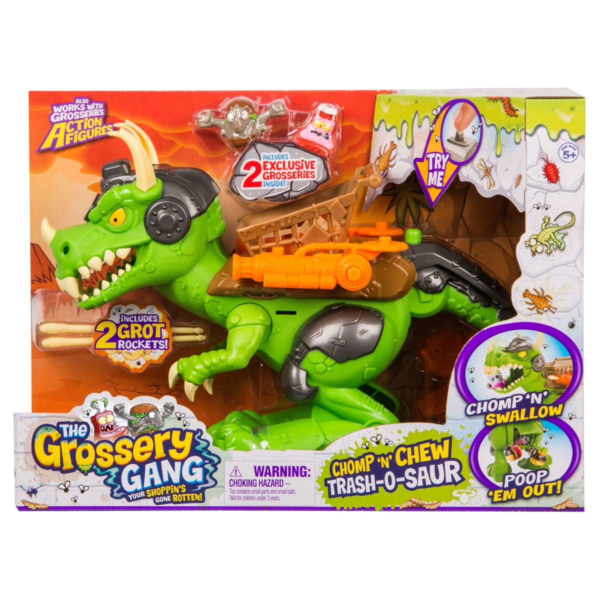 The Grossery Gang Playset Dino