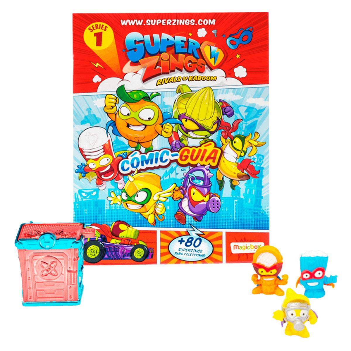 Pack de Inicio Superzings Serie 1 Bandai