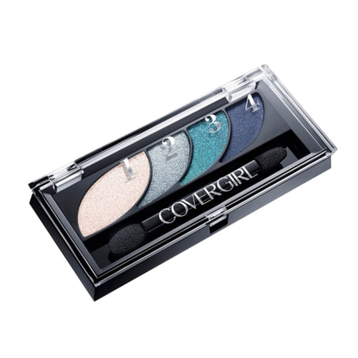 Eye Shadow Quads  Breathtaking Blues 725