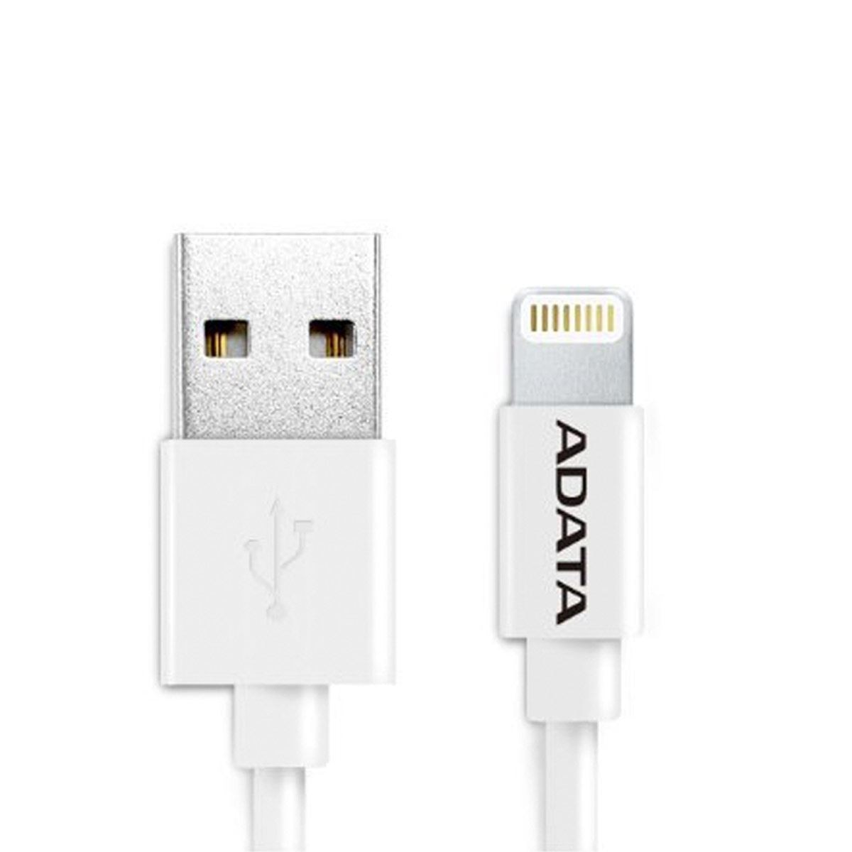 Cable Lightning 1M Blanco Adata